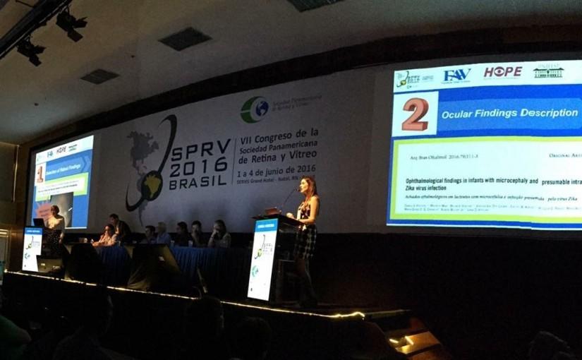 Dr. Rubens Belfort no congresso panamericano