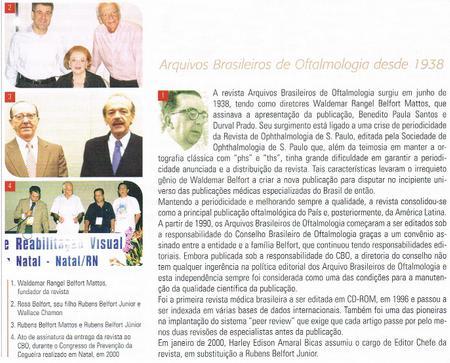 ABO desde 1938 educando oftalmologistas Brasileiros