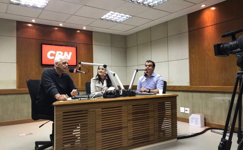 Entrevista rádio CBN programa Gerações