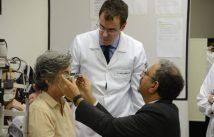 Dr Rubens Belfort recebe o professor Americano Arun Singh em São Paulo